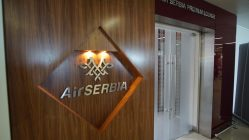 Air Serbia Lounge at the Belgrade Airport
